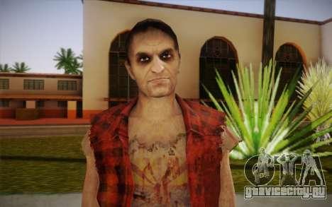 Новый бездомный для GTA San Andreas третий скриншот