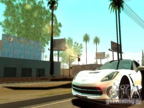 ENBSeries Realistic Beta v2.0 для GTA San Andreas третий скриншот