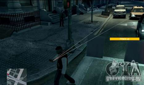 Watch Dogs Style MOD для GTA 4 третий скриншот