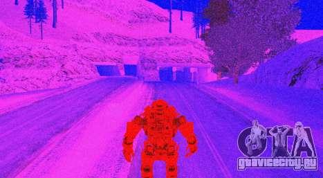TitanFall Atlas для GTA San Andreas девятый скриншот