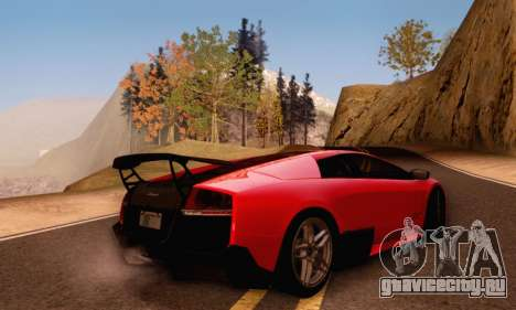 Lamborghini Murcielago LP670-4 SV для GTA San Andreas вид сбоку