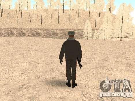 Капитан милиции для GTA San Andreas третий скриншот