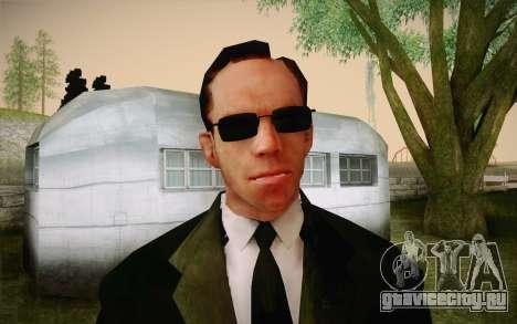 Agent Smith from Matrix для GTA San Andreas третий скриншот