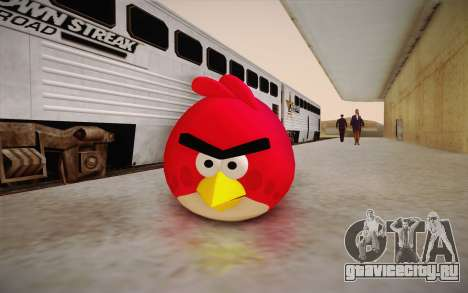 Red Bird from Angry Birds для GTA San Andreas