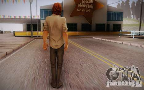 Bigby Wolf для GTA San Andreas второй скриншот