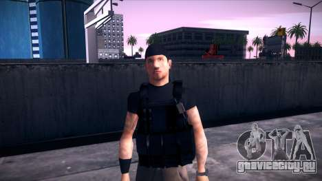 Special Weapons and Tactics Officer Version 4.0 для GTA San Andreas девятый скриншот