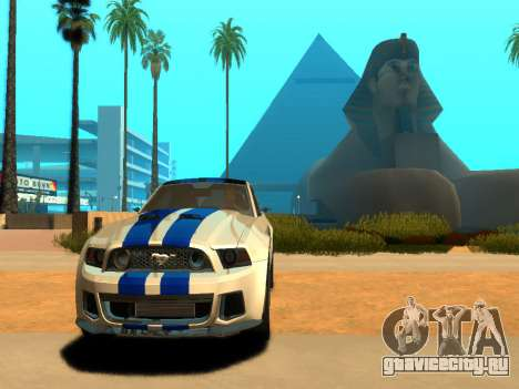 ENBSeries Realistic Beta v2.0 для GTA San Andreas второй скриншот