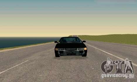 ВАЗ 21123 TURBO-Кобра v2 для GTA San Andreas вид сзади слева