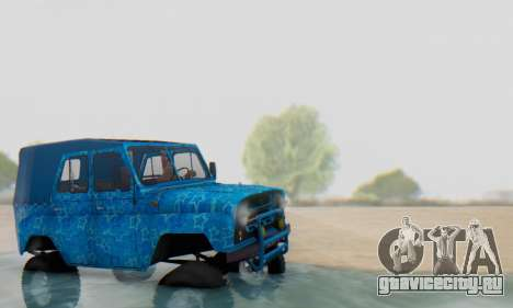 UAZ 469 Blue Star для GTA San Andreas