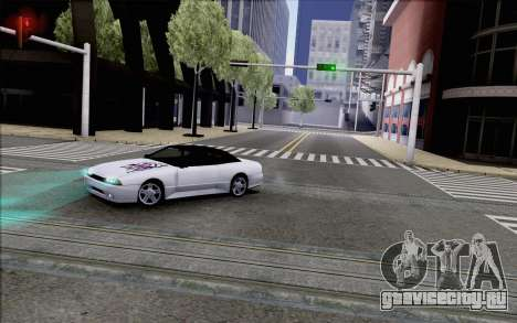 Elegy Kiss the Wall для GTA San Andreas вид сзади слева