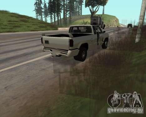 Новый Pickup для GTA San Andreas вид изнутри
