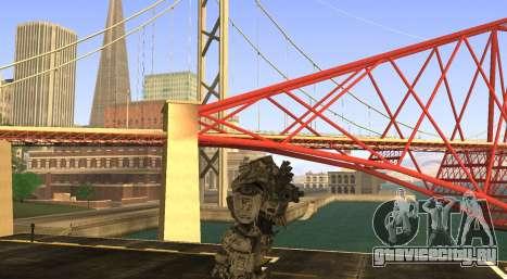 TitanFall Atlas для GTA San Andreas третий скриншот
