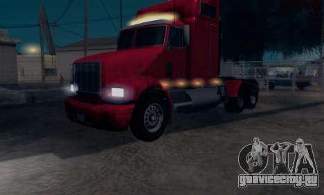 GTA V Packer для GTA San Andreas вид сзади слева