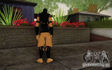 Нинзя для GTA San Andreas второй скриншот