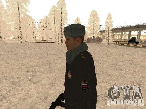 Капитан милиции для GTA San Andreas второй скриншот