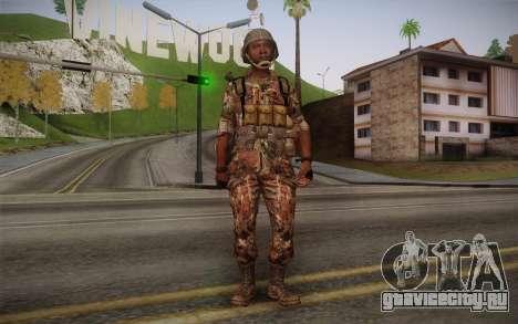 U.S. Soldier v3 для GTA San Andreas