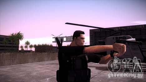 Special Weapons and Tactics Officer Version 4.0 для GTA San Andreas