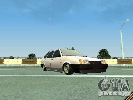 ВАЗ 2109 для GTA San Andreas вид сбоку