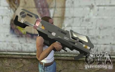 Halo Spartan Laser для GTA San Andreas третий скриншот