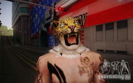 King from Tekken для GTA San Andreas третий скриншот