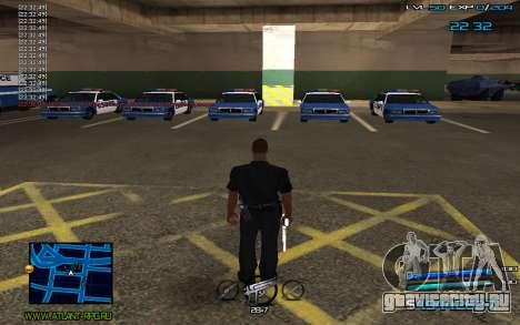 C-HUD by Miki для GTA San Andreas второй скриншот