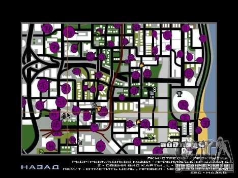 Tags Map Mod v1.2 для GTA San Andreas