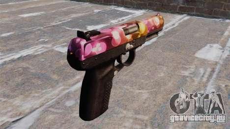Пистолет FN Five-seveN Dots для GTA 4 второй скриншот