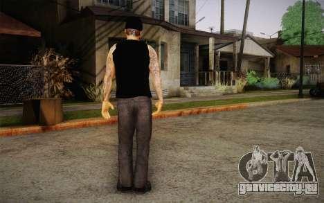 M. Shadows Skin для GTA San Andreas третий скриншот
