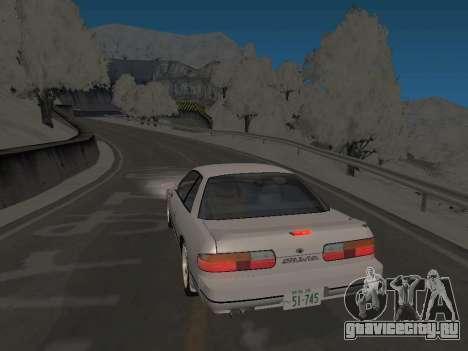 SinAkagi Snow Дрифт трасса для GTA San Andreas второй скриншот