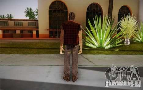 Новый бездомный для GTA San Andreas второй скриншот