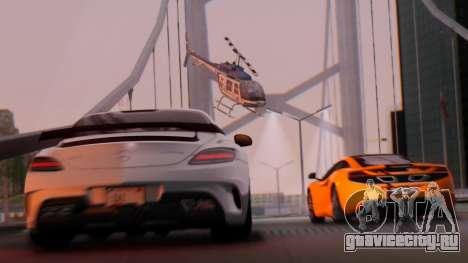 SA Beautiful Realistic Graphics 1.7 Final для GTA San Andreas второй скриншот