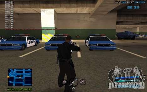 C-HUD by Miki для GTA San Andreas третий скриншот