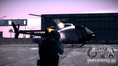 Special Weapons and Tactics Officer Version 4.0 для GTA San Andreas четвёртый скриншот