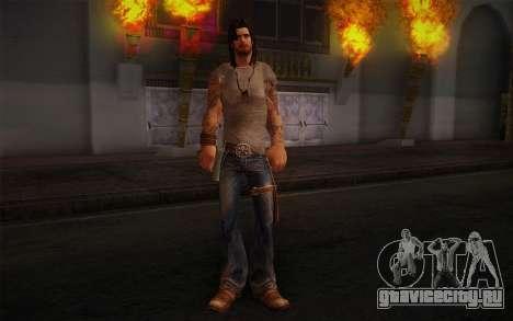 Jake Conway из Ride to Hell: Retribution для GTA San Andreas