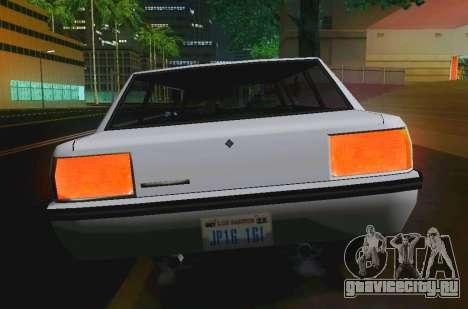 Vincent Limousine для GTA San Andreas вид справа