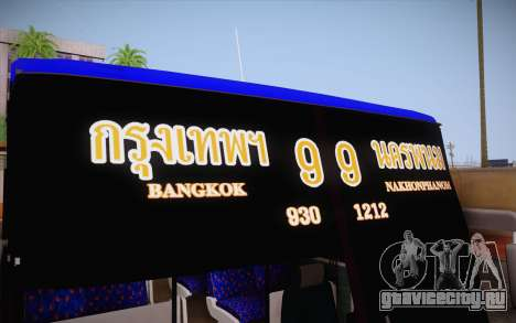 Mercedes-Benz Argentina Thailand Bus для GTA San Andreas вид сбоку
