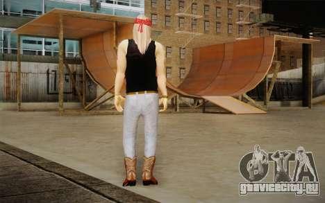 Axl Rose Skin v2 для GTA San Andreas второй скриншот