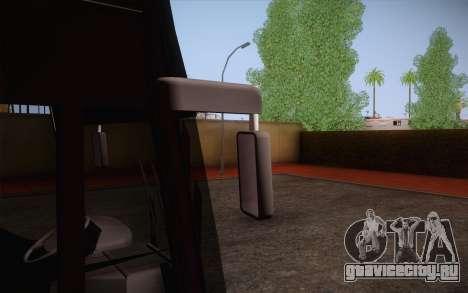 Mercedes-Benz Argentina Thailand Bus для GTA San Andreas вид изнутри