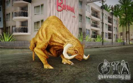 Sirian Werebull для GTA San Andreas