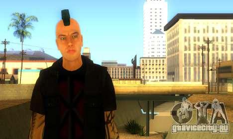 Панк (vwmycr) для GTA San Andreas второй скриншот