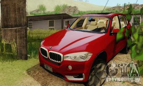 BMW X5 (F15) 2014 для GTA San Andreas вид справа