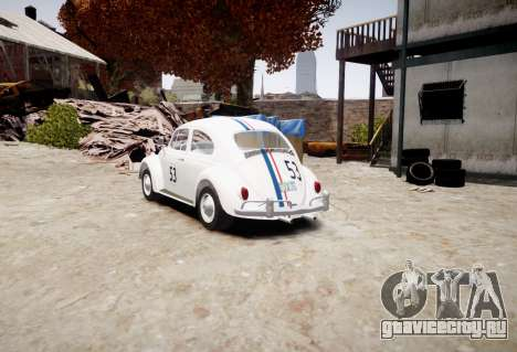 Volkswagen Beetle 1962 для GTA 4 вид слева