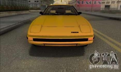 Mazda RX-7 GSL-SE 1985 IVF для GTA San Andreas вид сбоку