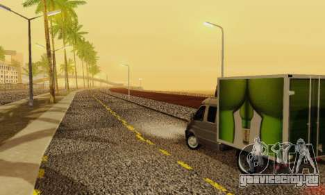 Heavy Roads (Los Santos) для GTA San Andreas восьмой скриншот