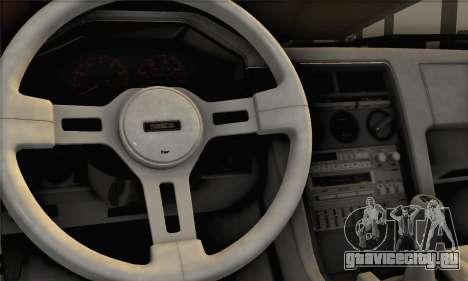 Mazda RX-7 GSL-SE 1985 IVF для GTA San Andreas вид сзади слева