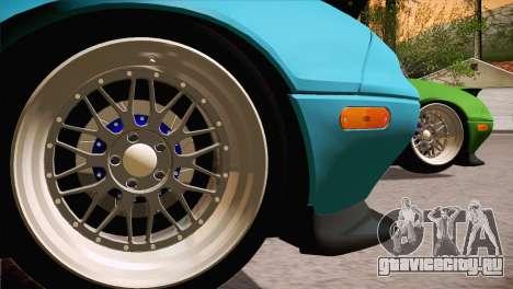 Mazda Miata Hellaflush для GTA San Andreas вид слева