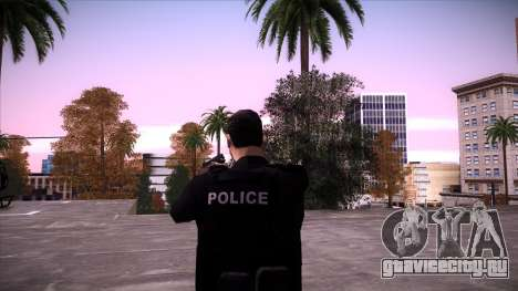 Special Weapons and Tactics Officer Version 4.0 для GTA San Andreas одинадцатый скриншот