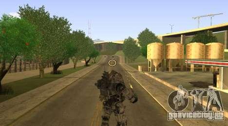 TitanFall Atlas для GTA San Andreas пятый скриншот