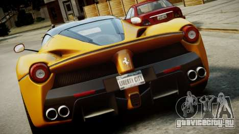 Ferrari LaFerrari v1.2 для GTA 4 салон