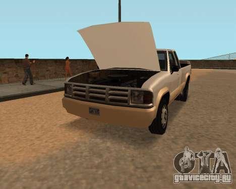 Новый Pickup для GTA San Andreas вид справа